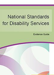 National Standards for Disability Services - Evidence Guide Page One