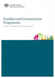 Families and Children Access Strategy Guidelines Page one