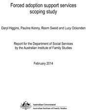 Forced Adoption Support Services Scoping Study cover image