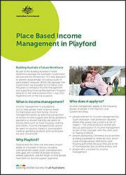 Income Management in Playford  cover