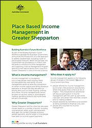 Income Management in Greater Shepparton