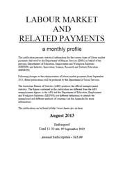 Labour Market and Related Payments August 2013 cover image