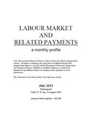Labour Market and Related Payments July 2013 cover image