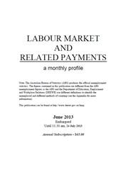 Labour Market and Related Payments June 2013 cover image