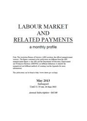 Labour Market and Related Payments May 2013 cover image