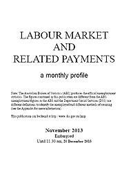 Labour Market and related Payments November 2013  Page One