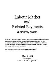 Labour Market and Related Payments March 2014 Page One