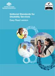 National Standards for Disability Services Easy English cover image