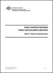 Part C - Youth in Communities