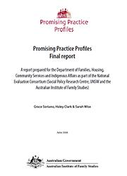 Promising Practice Profiles Final Report