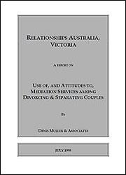 Use of, and Attitudes to, Mediation Services Among Divorcing and Separating Couples